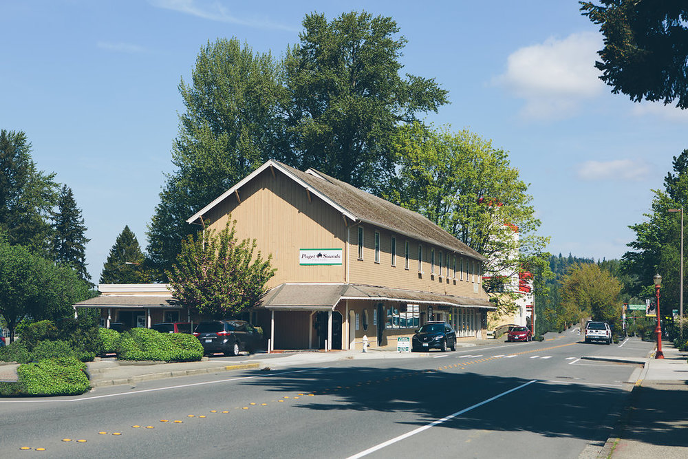 Our School - Our school is located in the historic Mercantile building in downtown Issaquah. We have seven teaching studios, each equipped with excellent acoustic pianos.