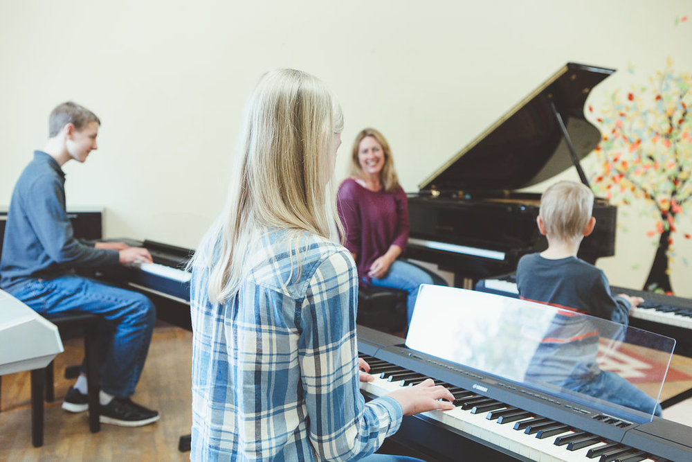Proud of our Students - We believe that pianists, like music, come in all shapes and sizes. We aspire to meet students where they currently are, and provide the skills and inspiration to develop musically throughout their lifetime.