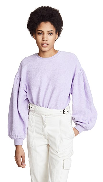 Free People Sleeves Like These Pullover $78.00