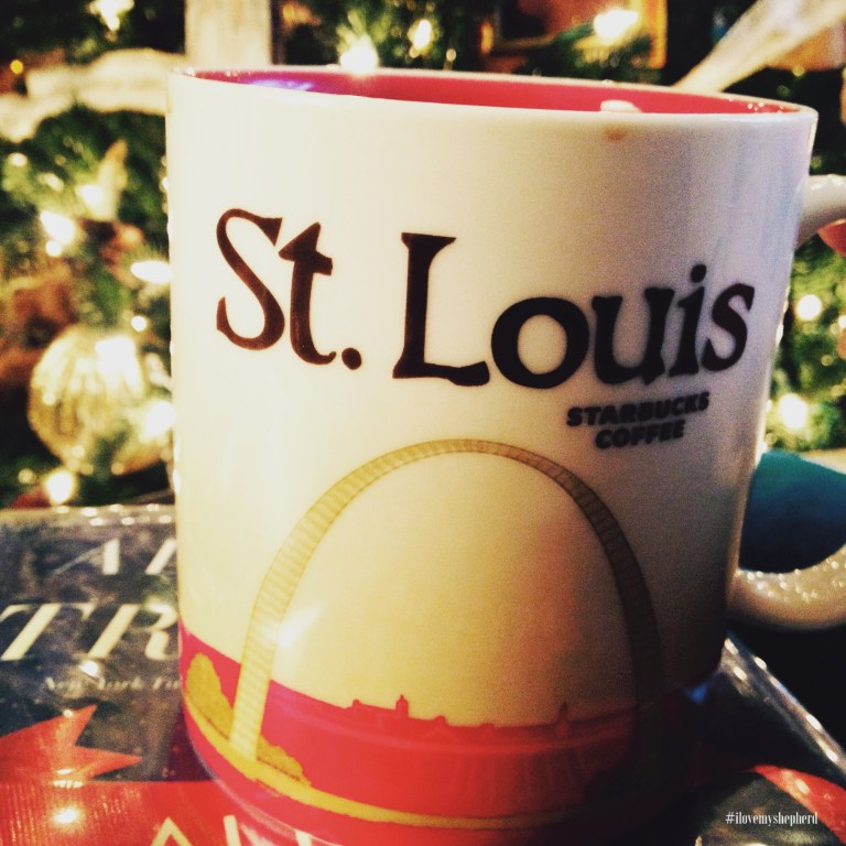 a hot beverage or a mug #AdventPhotoChallenge #ilovemyshepherd #graftedheart