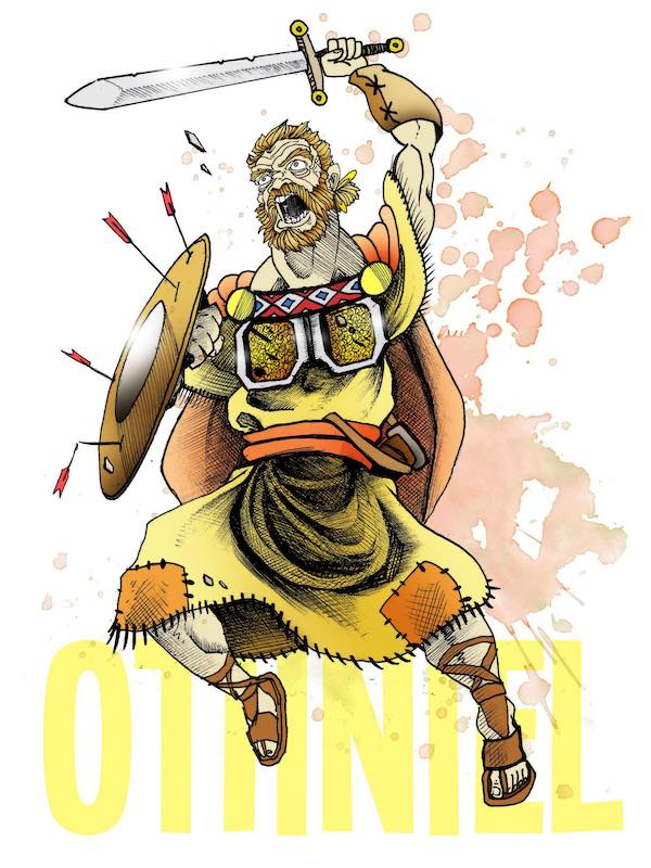 Othniel - A Mighty WarriorCaleb's brotherJudges 3:1-11