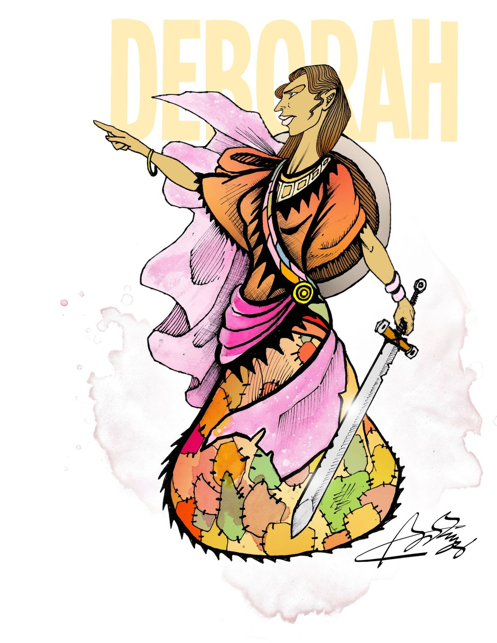 Deborah - A Judge and ProphetessJudges 4:1-24Song of DeborahJudges 5
