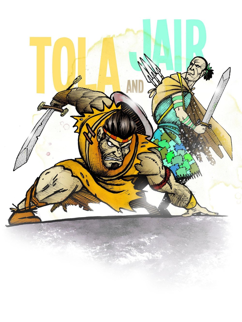 Tola and Jair - Judges 10Judged 23 and 22 yearsHelpers for God