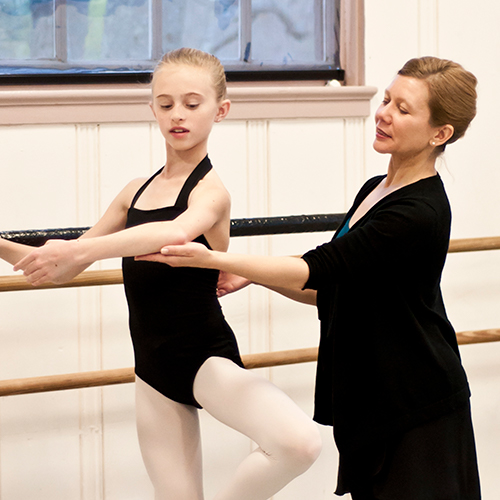 "Kathryn came to Acton School of Ballet from Walnut Hill School where she served as Director of the Community Dance Academy for 14 years. She was also the Founder and Director of Walnut Hill's popular Youth Summer Dance Program. She was a member of the faculties of Pittsburgh Youth Ballet and the American Academy of Ballet in Buffalo, NY, and spent five summers on the faculty of Chautauqua Institution. Ms. Stark received her dance training at North Carolina School of the Arts, Pittsburgh Ballet Theatre School, and as a child in Pittsburgh with Jean Gedeon and Eduard Caton. She danced professionally with Ballet Met in Columbus, OH and was a principal dancer of Southern Ballet Theatre (now Orlando Ballet) where she performed roles including ""Lisette"" in La Fille Mal Gardee and lead roles in Balanchine's  Valse Fantasie  and  Allegro Brilliante."