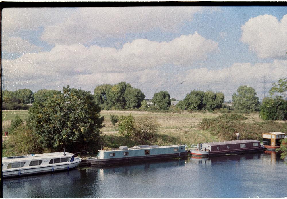 River Lea. boats