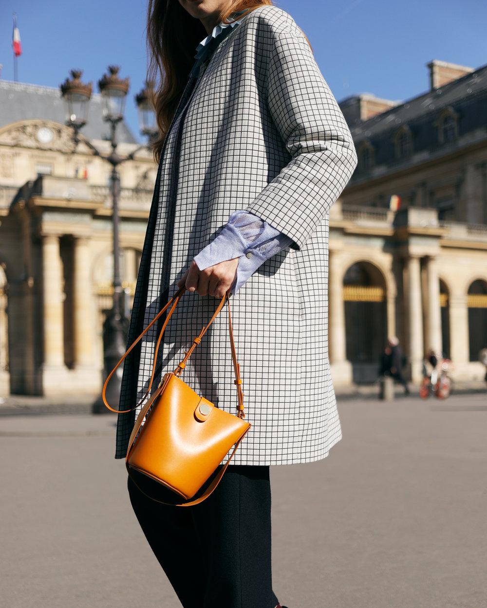 Paris fashion week handbags