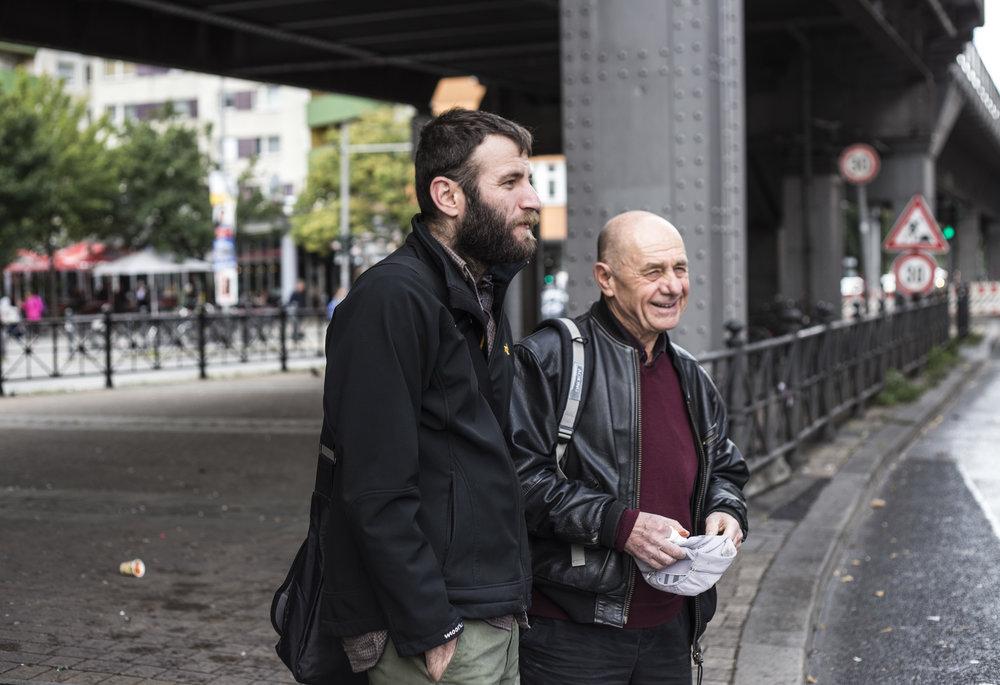 Two generations of political refugees from Turkey. Conversation with Demir Küçükaydın und Rezan Aksoy.  Die Tageszeitung 2017