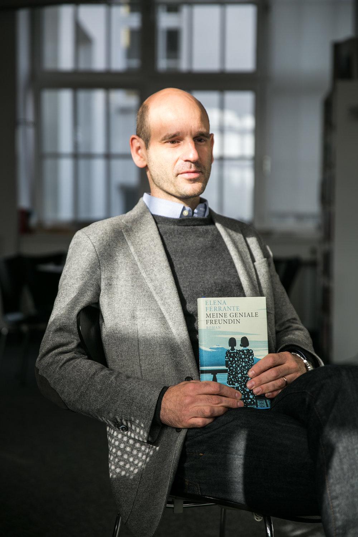 Suhrkamp Verlag.Dr. Jonathan Landgrebe, Vorstand Suhrkamp AG  Die tageszeitung, 2016
