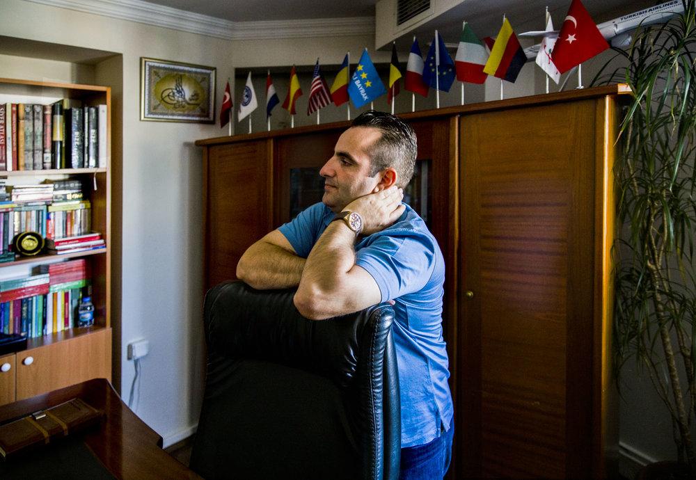 Mehmet Akif Köse, entrepreneur.