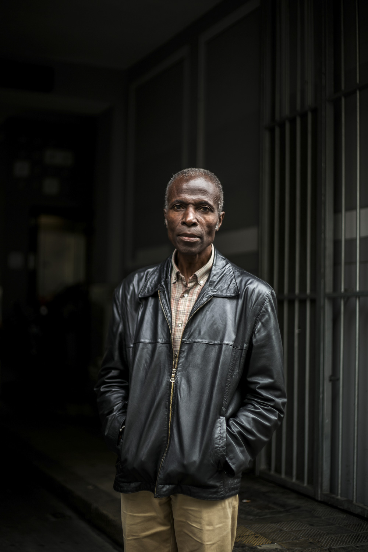 Photographer and Curator Akinbode Akinbiyi.  Die tageszeitung, 2016