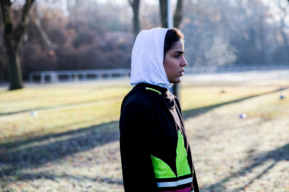 Playing for freedom. Iranian women's rugby team.  Die tageszeitung, 2017