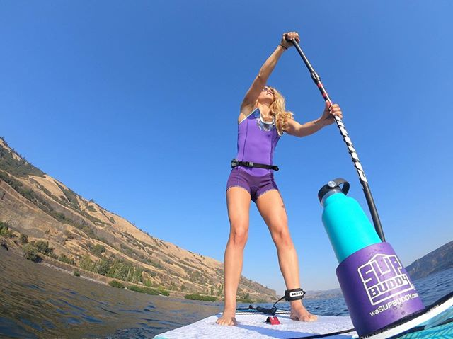 Long summer days are fading fast. Get on that water while you can! 🌞 stay tuned for a #SUPBuddy end-of-summer giveaway! - @colleenjcarroll cruisin' along with her #SUPBuddy . . . #SUPBuddy #iSUP #Standuppaddle #paddle #fanaticsup #riverdays #columbiarivergorge #oregon #explore #adventure #summerforever