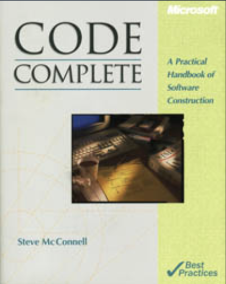 Code Complete (2nd Edition): Steve McConnell