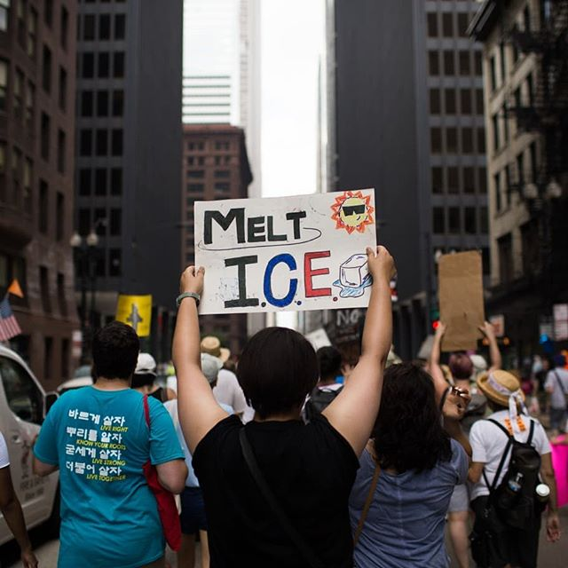 This past weekend on June 30, NAKASEC & Affiliates participated in the nationwide #FamiliesBelongTogether marches where we demanded that the Trump administration #EndFamilyDetention, #KeepFamiliesTogether, and #AbolishICE!