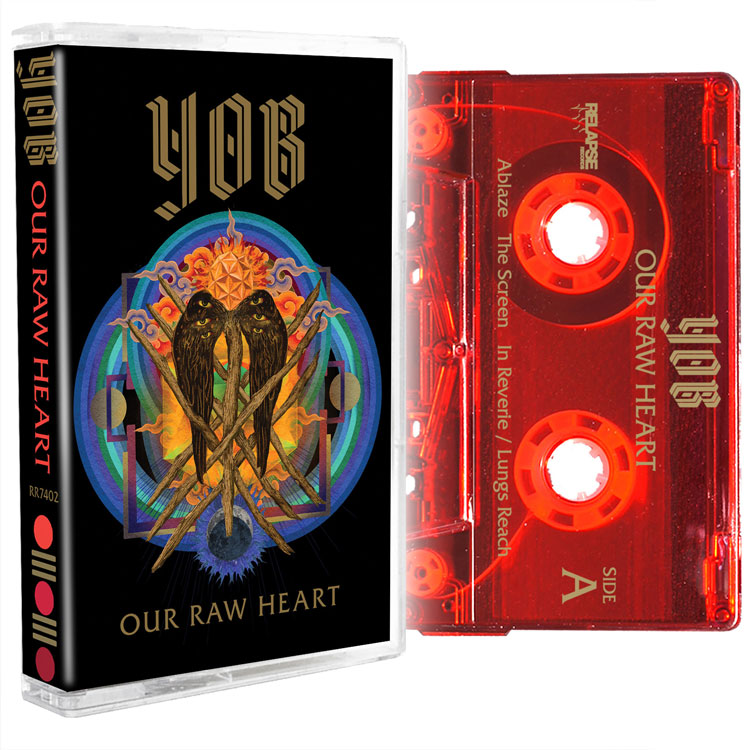 YOB Our Raw Heart Cassette