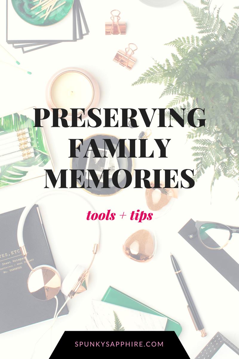 Preserving Keeping Family Photos Memories