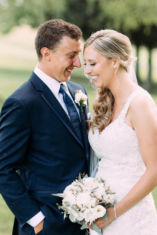 golf club wedding photography