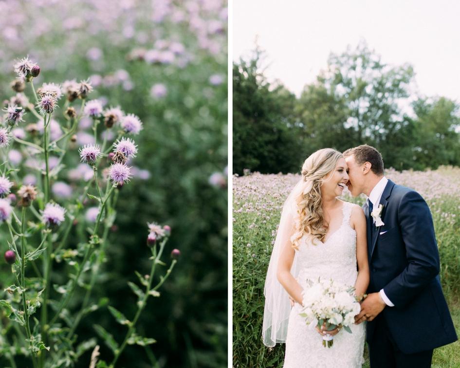 Garden bride wedding photography