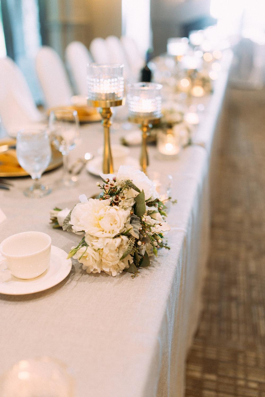 Blush and grey Hamilton real wedding