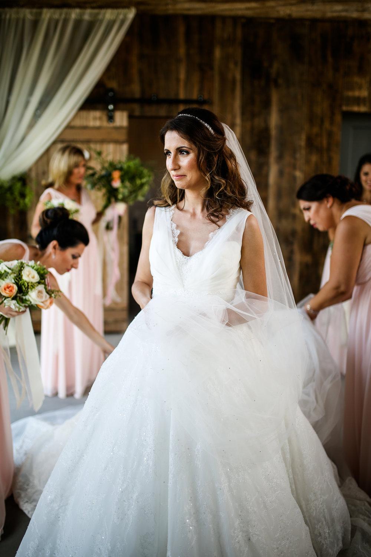 Lace Wedding Ballgown Real Wedding