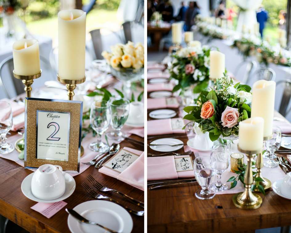 Elegant Outdoor Real Wedding