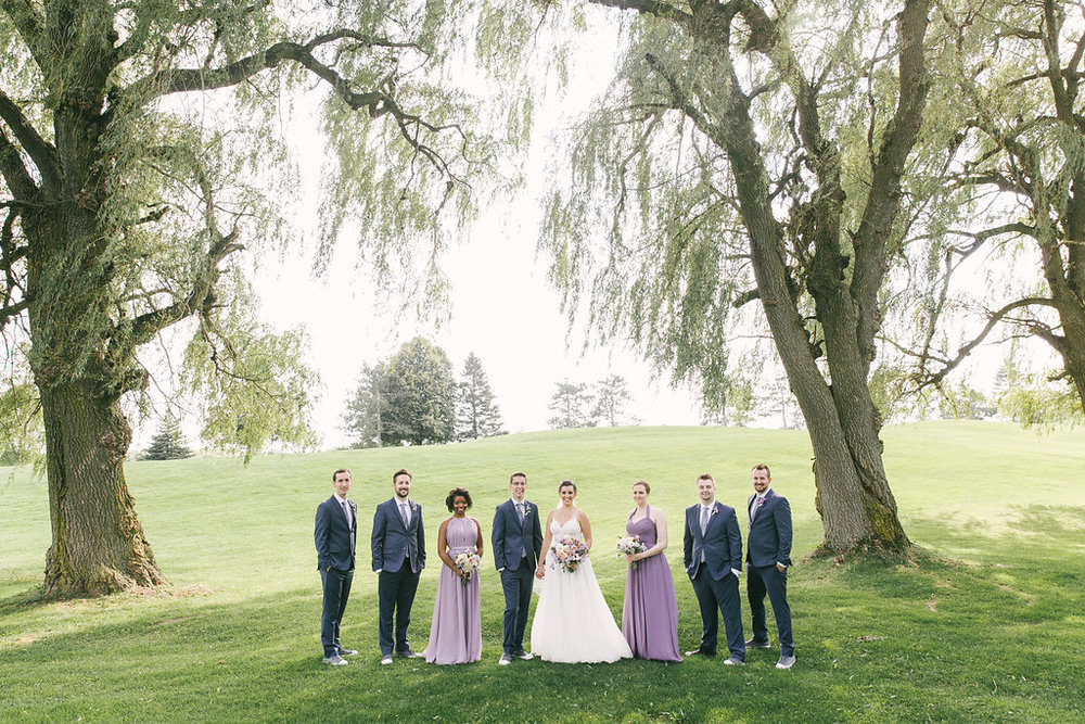 Purple Lavender Real Wedding | spunkysapphire.com