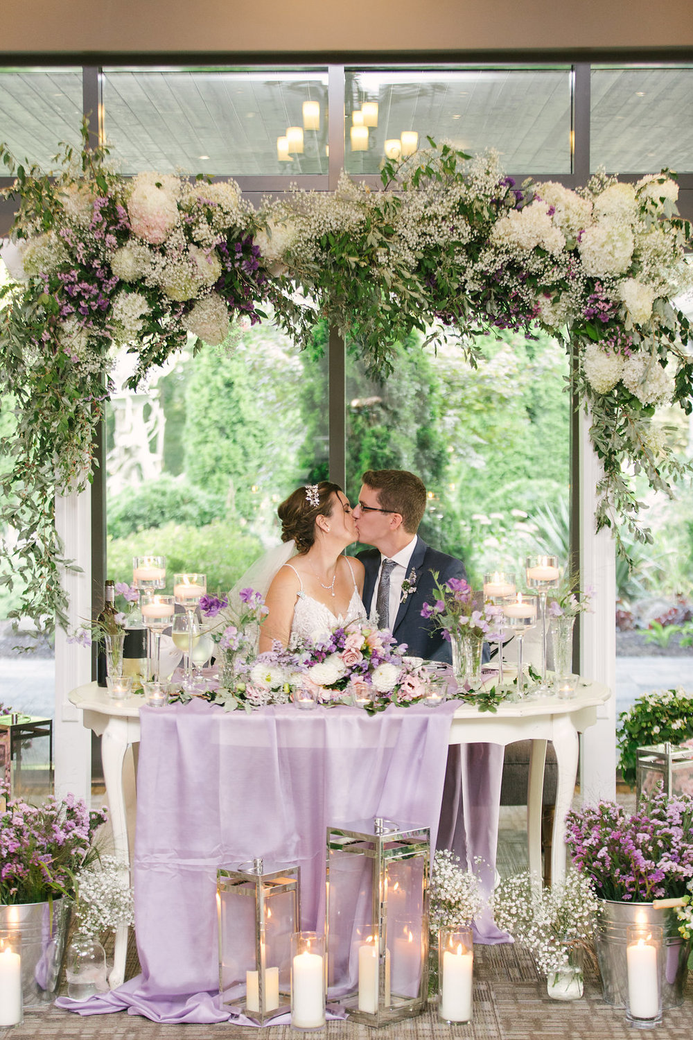 Romantic Garden Wedding Hamilton Ontario