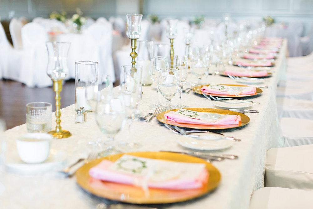Pink and White Real Wedding Hamilton Ontario