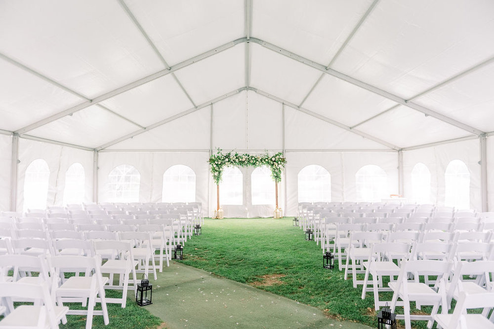 Wedding Ceremony Tent // spunkysapphire.com/blog