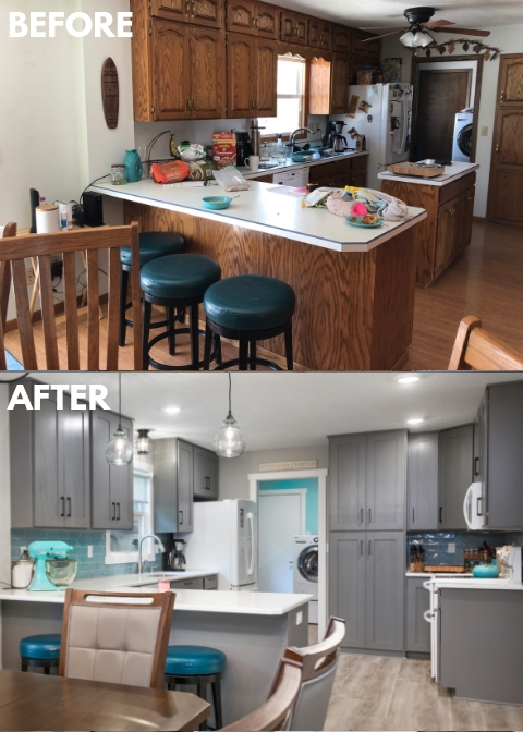 Replacing Cabinet Doors The Coatings Authority