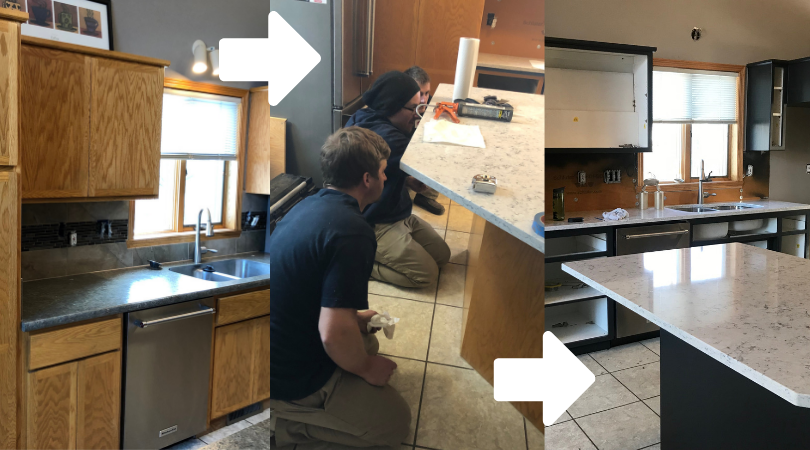 Unique Kitchen Cabinet Refinishing Process — The Coatings ...