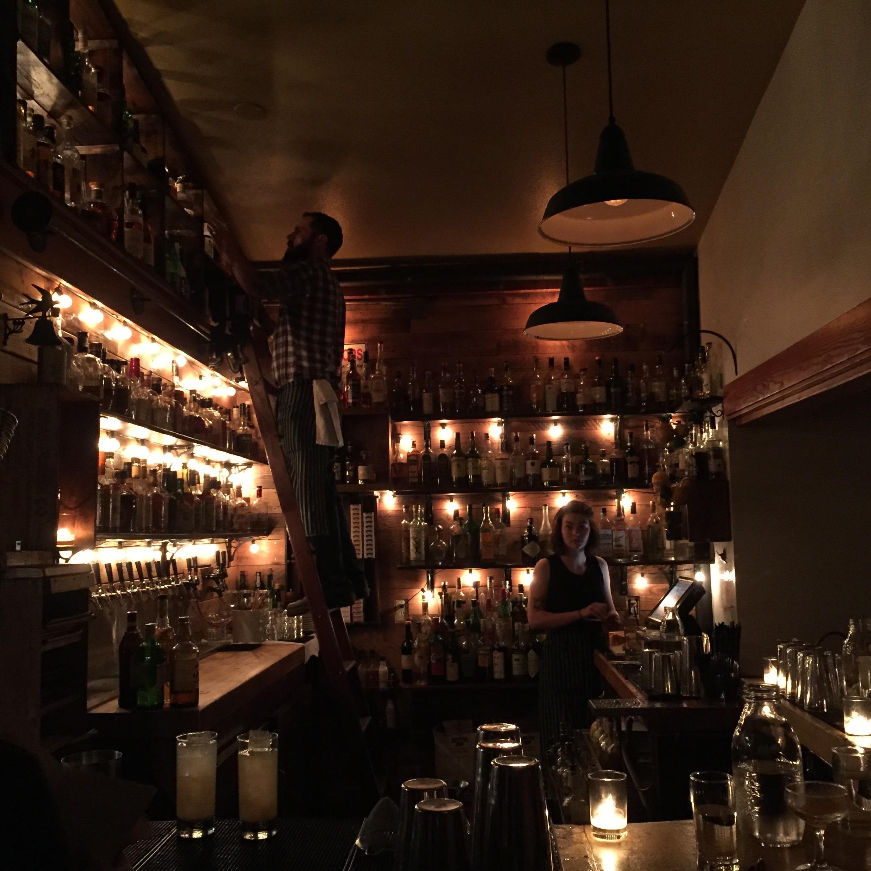 Bar for blog