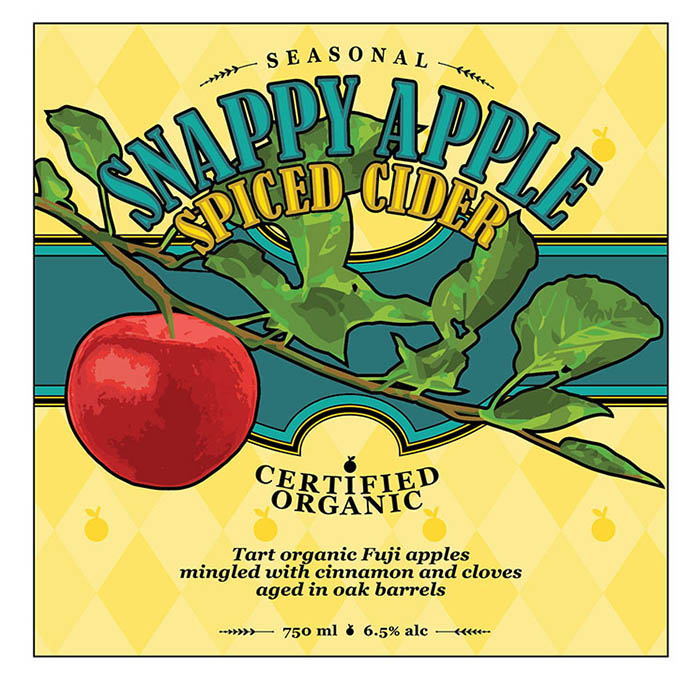 SNAPPY APPLE SPICED CIDER