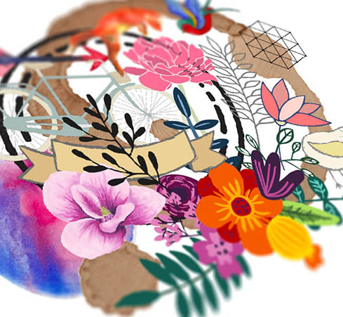 ELEMENTS - Over 2,000 graphic elements can be added to your design, including geometric, watercolor, icons, floral, nature, etc.