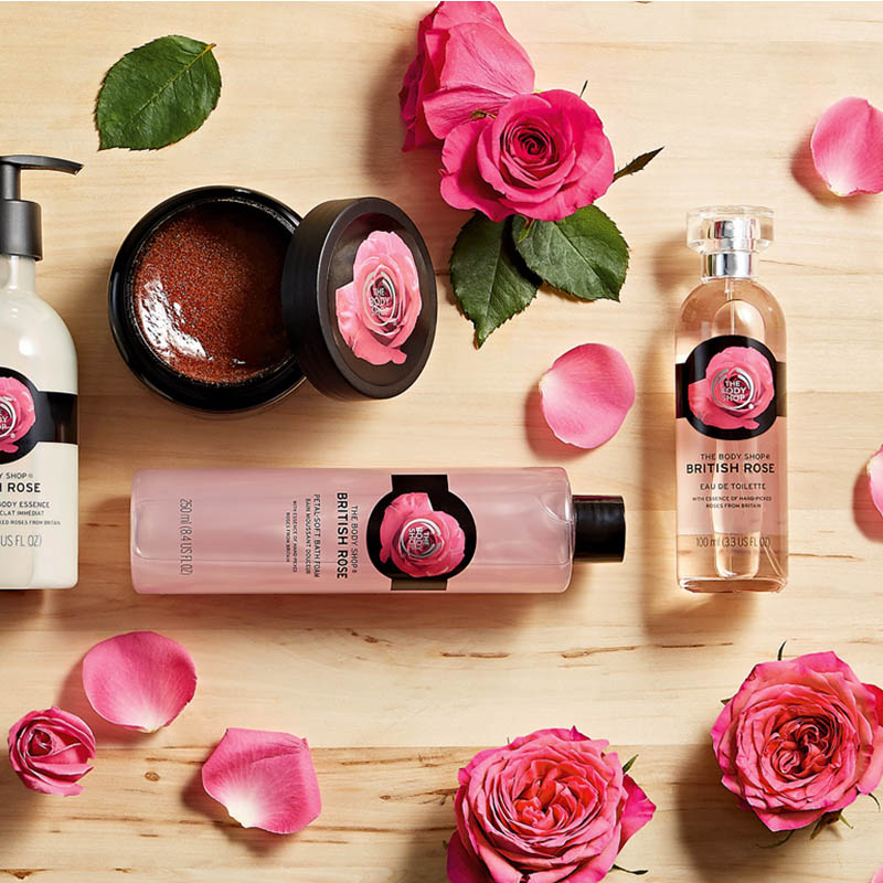 THE BODY SHOP - I've loved body butters from The Body Shop since forever, even though they are a tad expensive. Favorite scents are blueberry, grapefruit, honey, & passion fruit