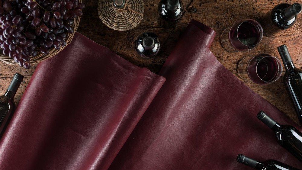 VEGEA leather made from grape marc. - vegeacompany.com