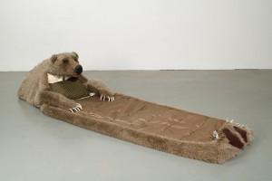 Bear Hug Sleeping Unit by Lisa Dillin