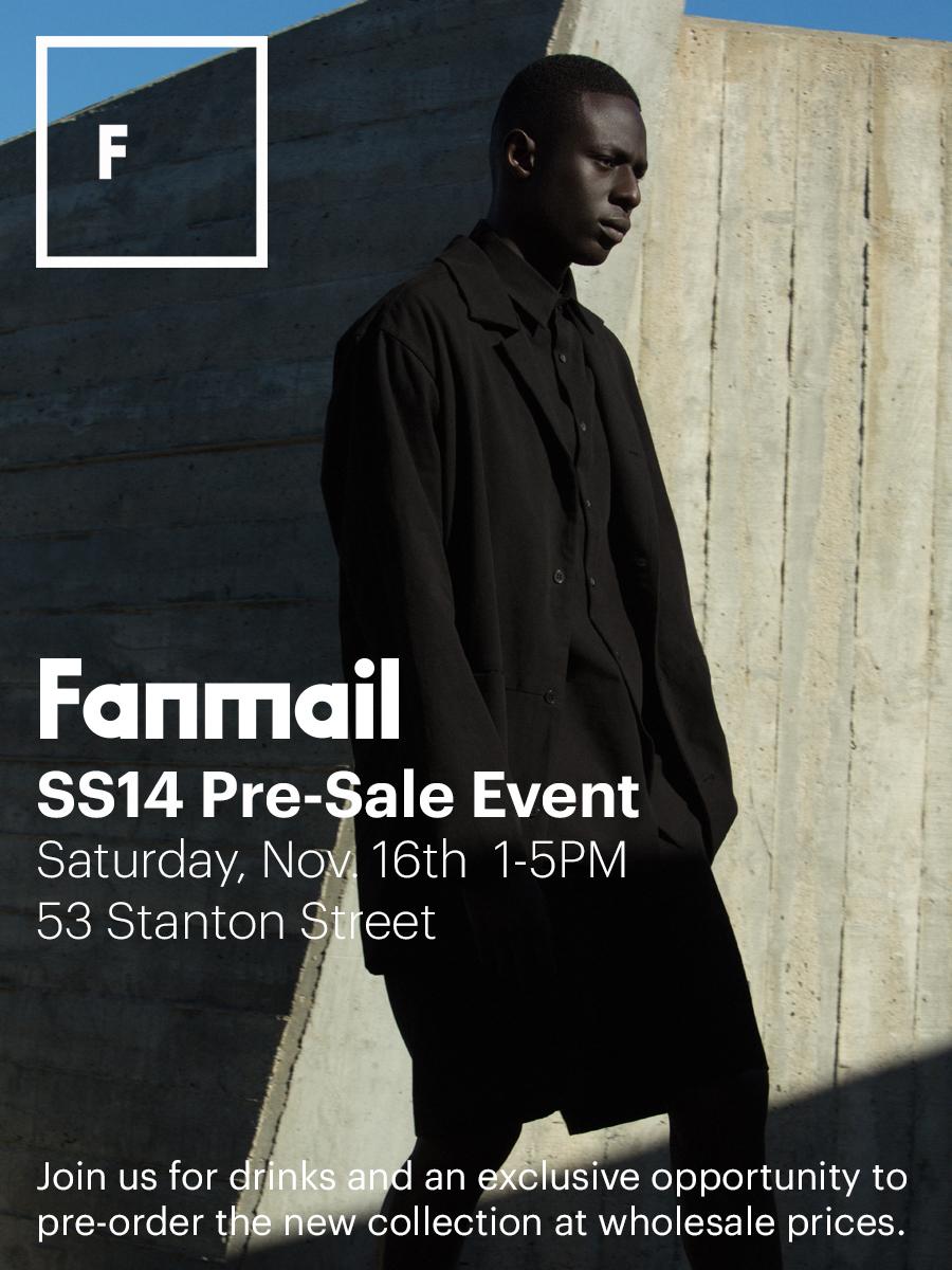 Fanmail-SS14-PreSale