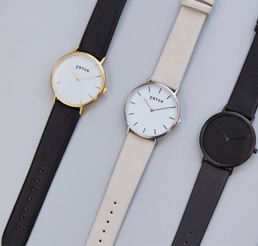 VOTCH   A cruelty free watch company that launched in London in 2016.