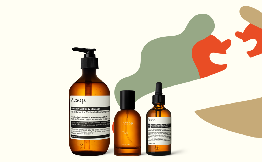 AESOP   Aesop was established in Melbourne in 1987. We source plant-based and laboratory-made ingredients, and use only those with a proven record of safety and efficacy.