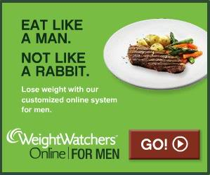 this diet ad was marketed to men in 2011. -