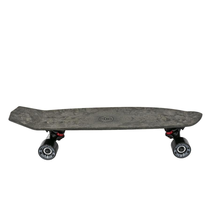 Uitto - Biocomposite skateboard in stone gray, made from sustainably sourced, 100% recyclable wood fibers.