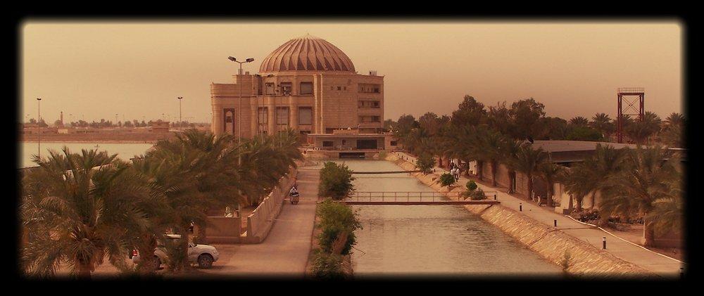 "Baghdad ""Office"" (Camp Slayer, Iraq)"
