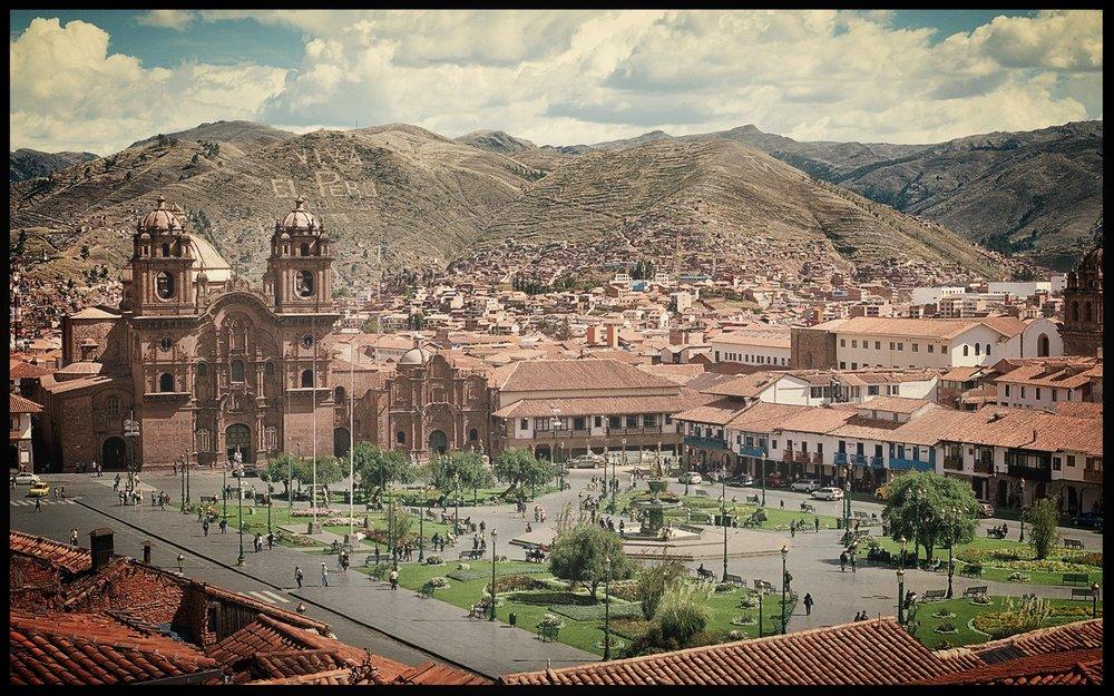Plaza de Armas, Cuzco.  Photo by    Jesse Chehak
