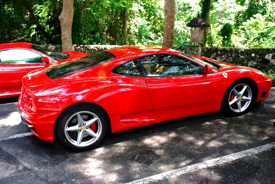 Ferrari on a small, traffic-congested island? Bitchin'.