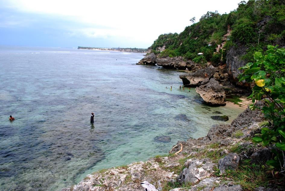 Padang Padang Beach area.