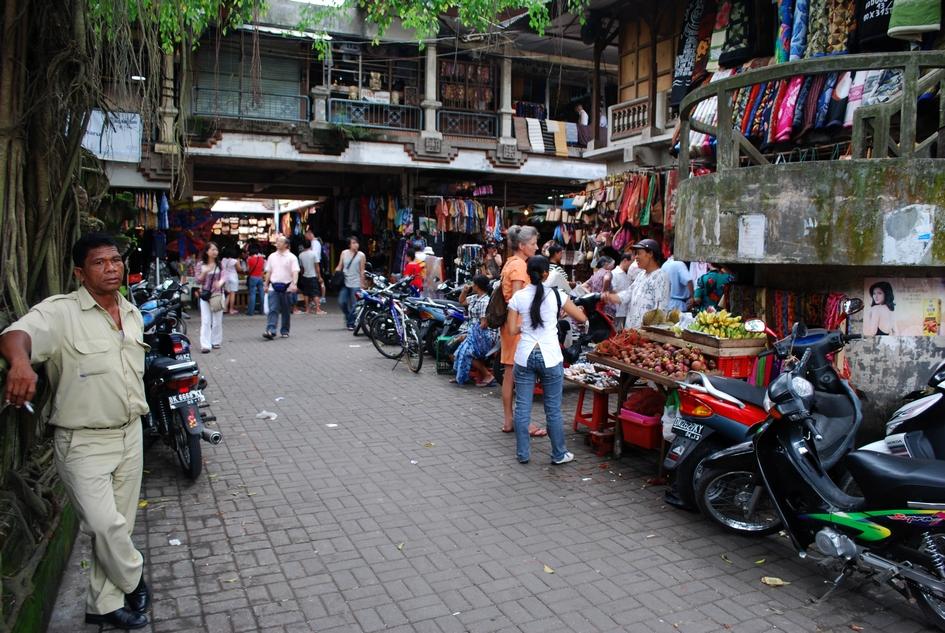 Ubud Central Market.
