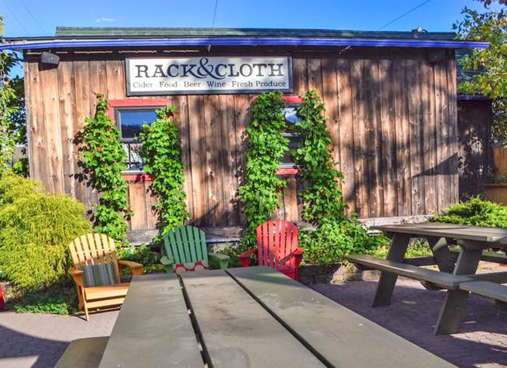 Rack & Cloth Cidery, Mosier. Photo by Chris Bruntlett