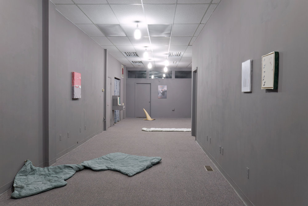 Installation view,  A Temporary Curse  at Bb