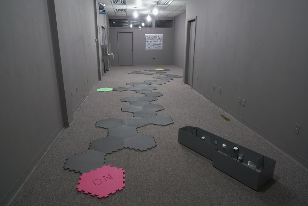 Installation view,  Playroom: Alex Goss  at Bb